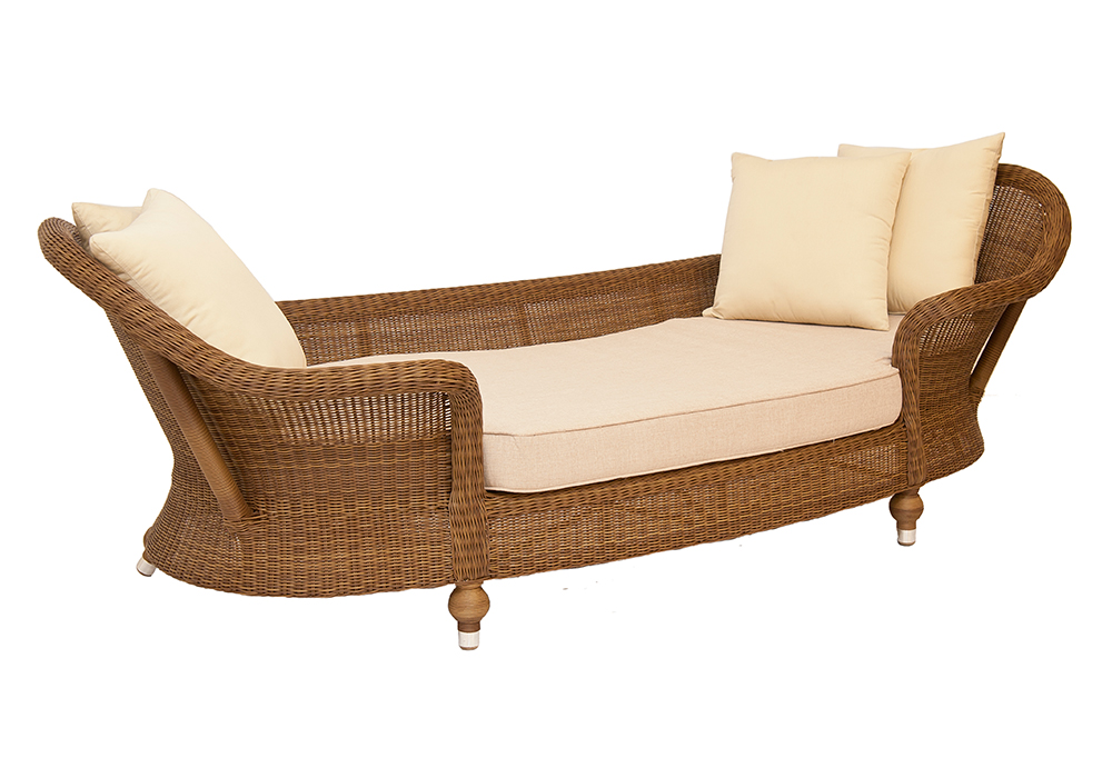 Colonial Chaise Lounge Woven Furniture Designs